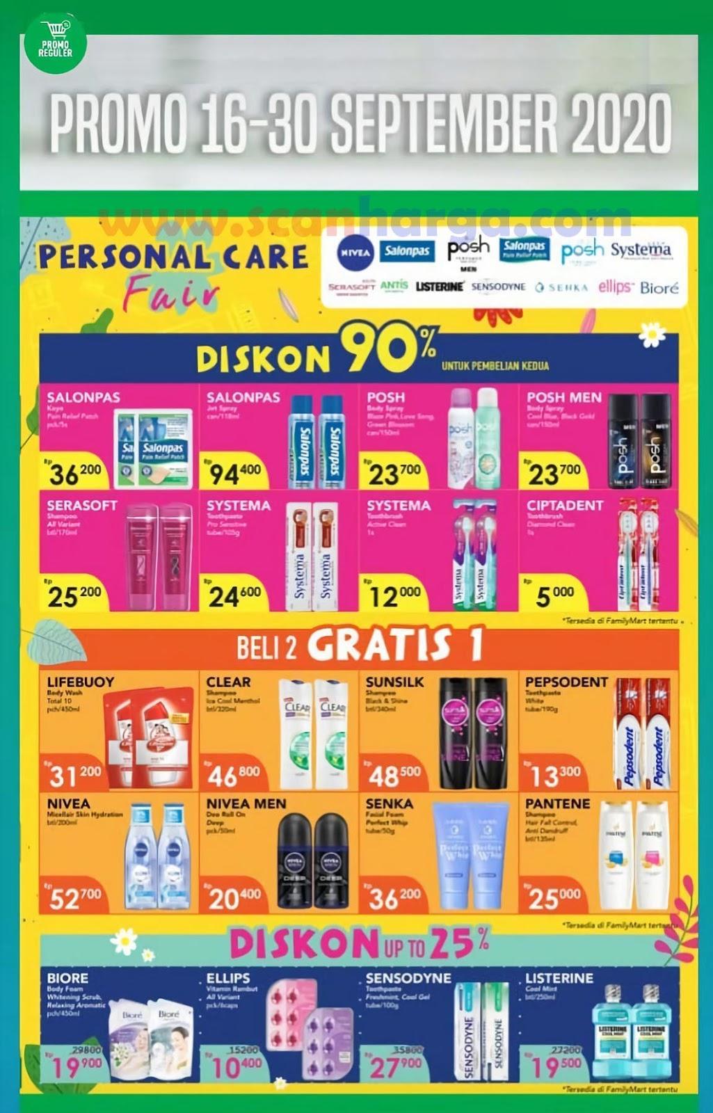Katalog Promo Family Mart Periode 16 - 30 September 2020