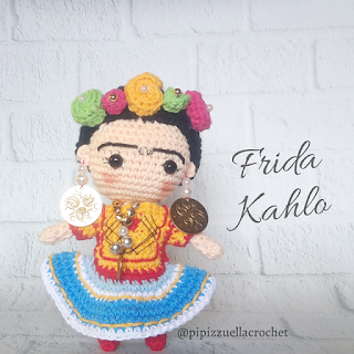 Free Frida Kahlo crochet patterns