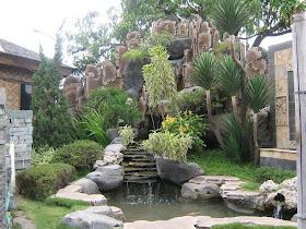 gambar rumah idaman: desain taman relief rumah minimalis