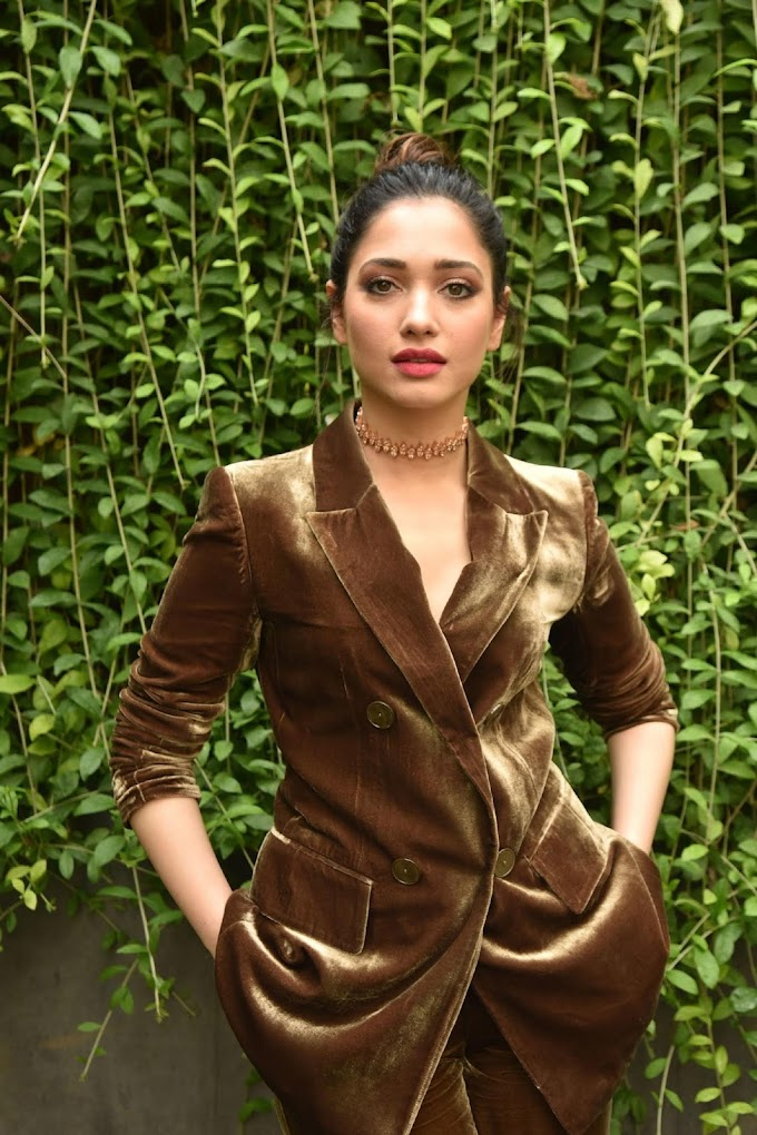 Tamannaah Latest Stills From Action Movie Promotions 👈