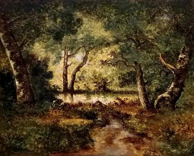 La Mare aux fées, Forêt de Fontainebleau, Narcisse Díaz de la Peña.