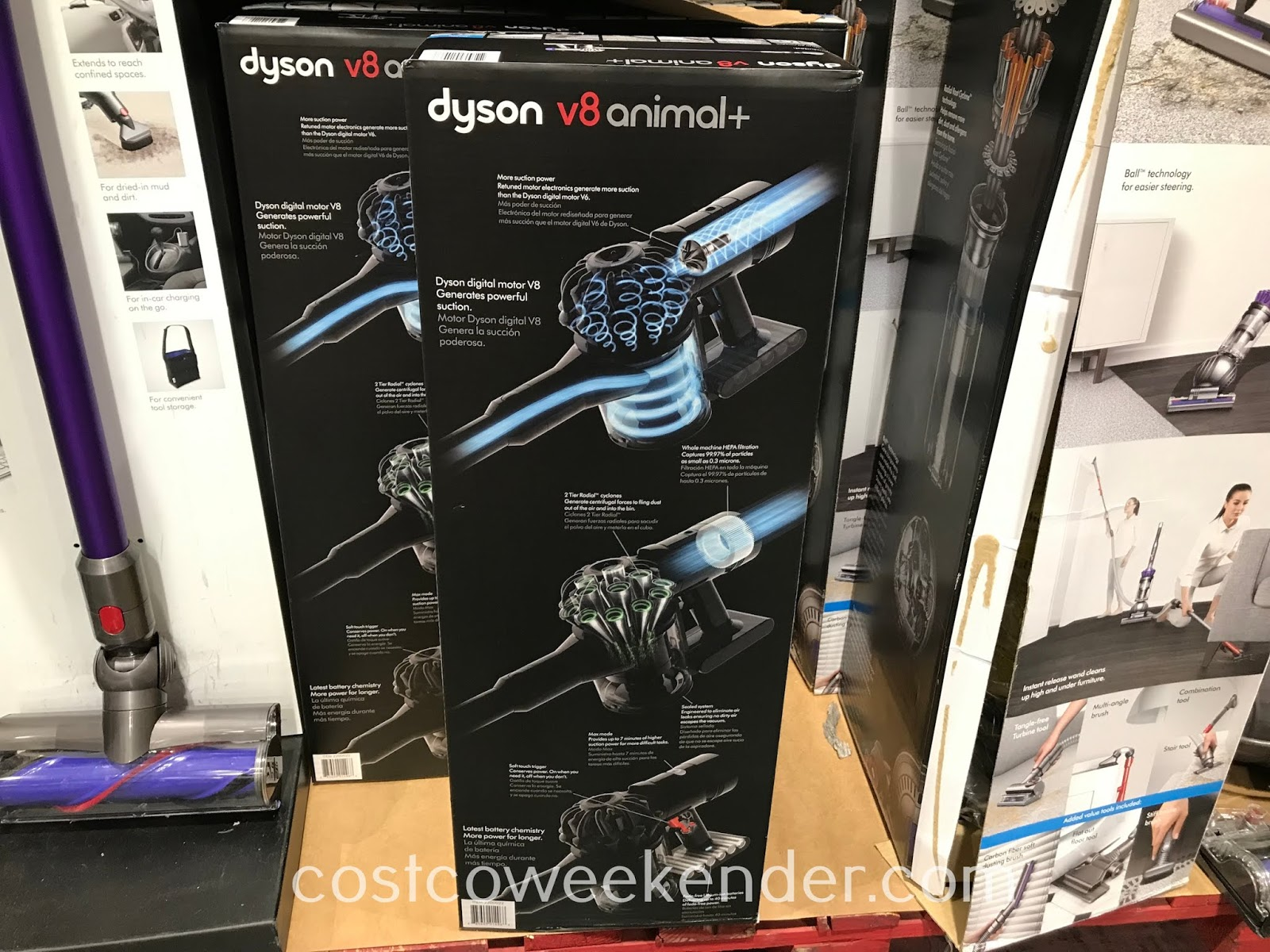 Dyson V8 Animal+ Vacuum: great for any household with pets