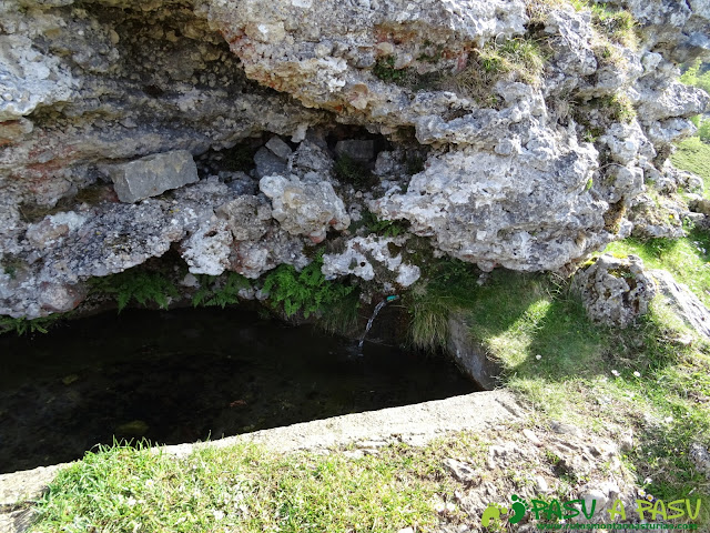 Fuente en la Majada las Bobias, Picos de Europa