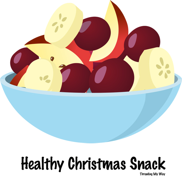 Make a healthy Christmas snack ~ Threading My Way