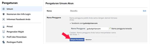 Cara Membuat Link Facebook di PC