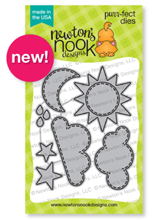 Sky Scene Builder Die Set by Newton's Nook Designs #newtonsnook