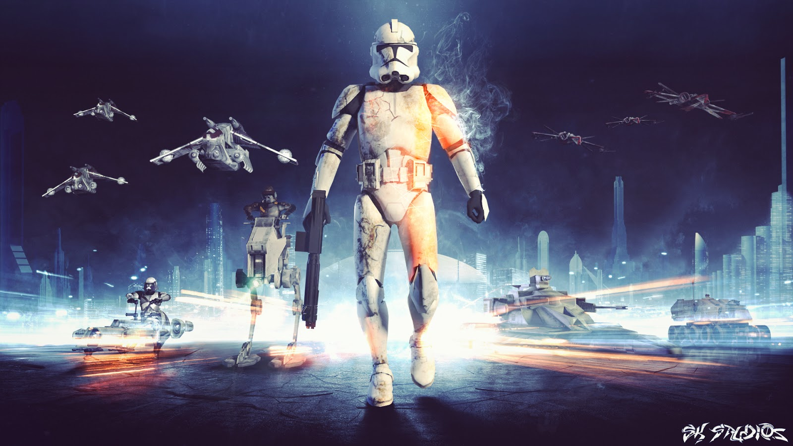 Wallpapers HD: Wallpapers De Star Wars Battlefront HD Y