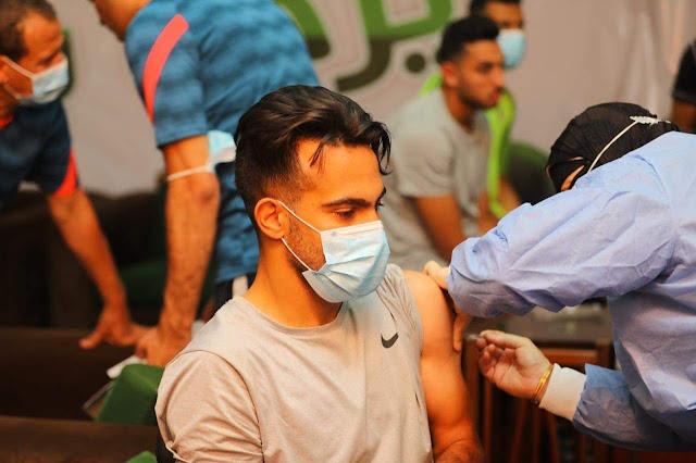 المصري يحصل على الجرعة الأولى من لقاح كورونا