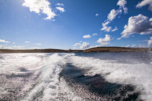 Isola di Comino-Laguna blu