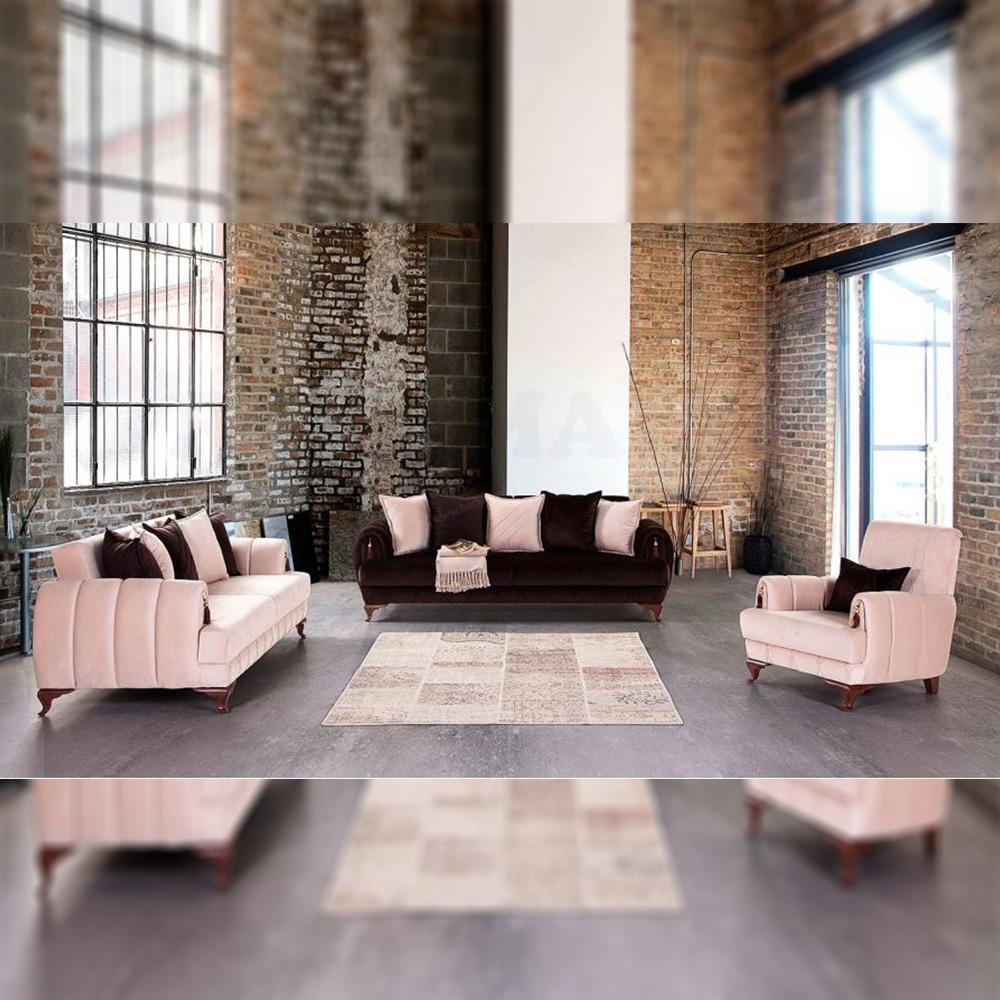 Sofa Tamu Minimalis Colorful Luxury Furniture Jepara RM-0001