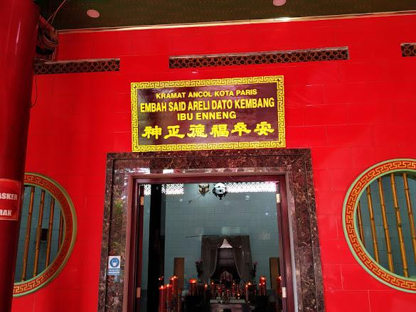 Bentuk Toleransi Beragama di Ibukota, Makam Salah Satu Penyiar Agama Islam Berada di Dalam Vihara