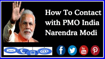 Contact with Prime Minister of India Naraedra Modi