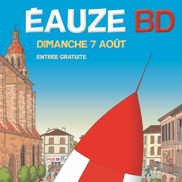 [Salon] Festival de la BD d'Eauze - 07/08/16