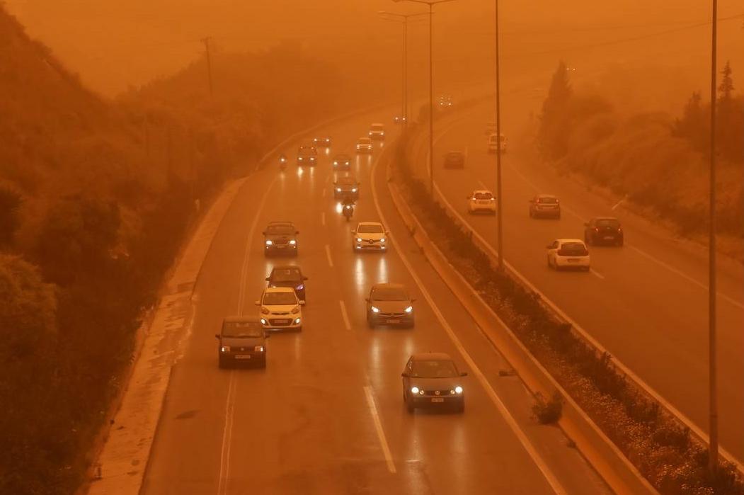 Αυξημένες οι συγκεντρώσεις αφρικανικής σκόνης από απόψε έως τη Δευτέρα