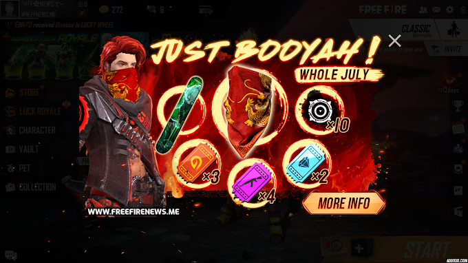 Take 100 Booyah And Get A Mask For Free!