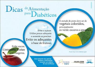 Guia de Alimentação para diabéticos