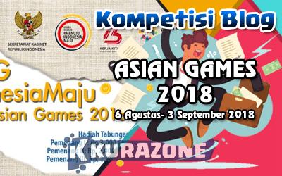 Kompetisi Blog - Asian Games 2018 Berhadiah Tabungan Total Uang Tunai 6 Juta Rupiah
