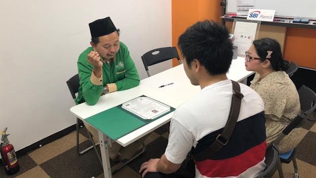 Gaul dengan Muslim Indonesia, Warga Jepang Baca Syahadat di Masjid Nusantara