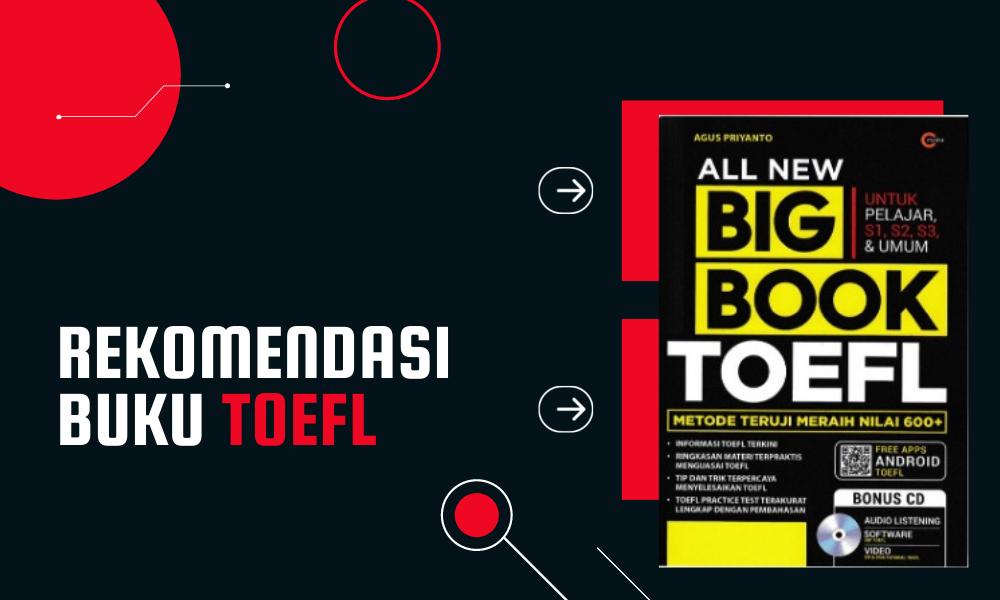 Rekomendasi Buku TOEFL Terbaik yang Bisa Anda Pilih