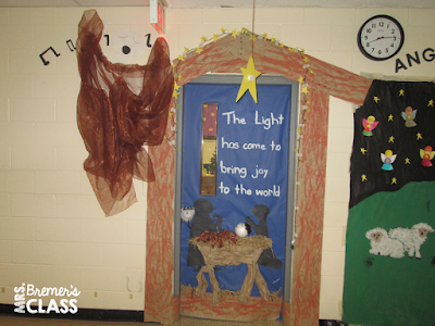 A tour of Christmas classroom door decorations around my school!