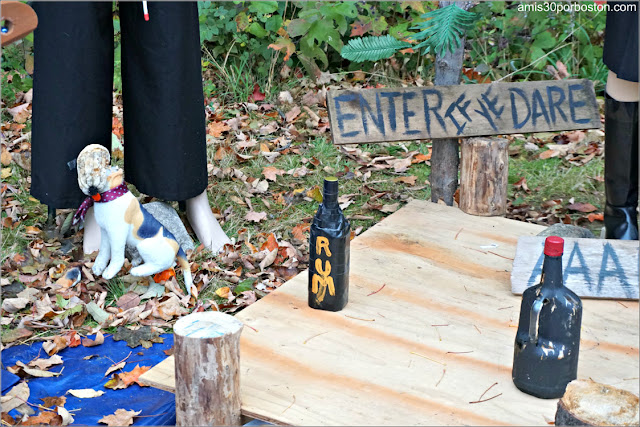 Piratas en el Return of the Pumpkin People de Jackson en New Hampshire