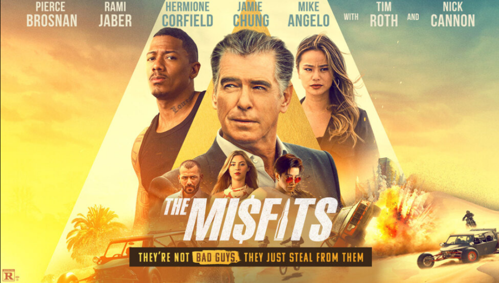 The Misfits, Action, Adventure, Thriller, Movie Review by Rawlins, Rawlins GLAM, Rawlins Lifestyle