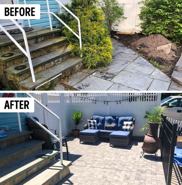 6 Photos Before and After Yard Renovations