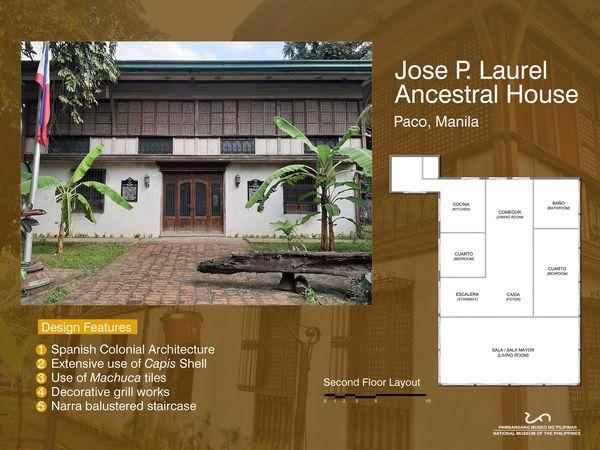 Bahay na Bato in Paco, Manila | Jose P. Laurel Ancestral House