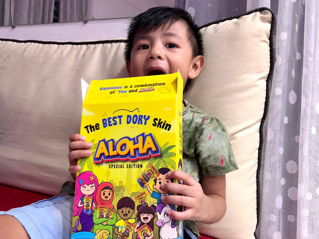 ALOHA The Best Dory Skin Cheesy Salted Egg