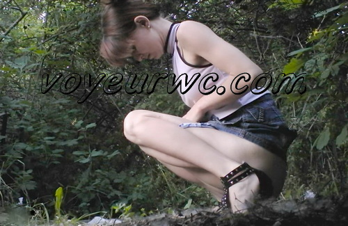 PissHunters 9171-9186 (Outdoor voyeur peeing. Voyeur public toilet spy cam)