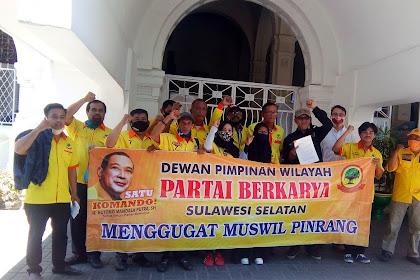 Partai Berkarya Sulsel Gugat Perdata Muswil Pinrang, Pidana Nyusul