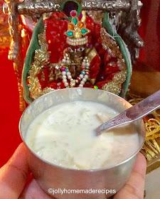 Janmashtami food
