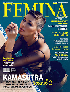 Nargis Fakhri Sizzles for Femina Magazine February 2017