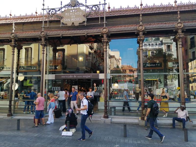 Foto: Mercado de san miguel a Madrid