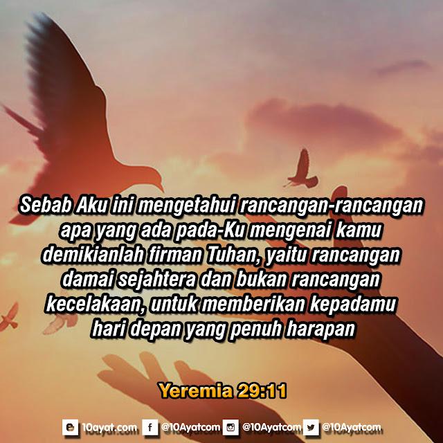 Yeremia 29:11