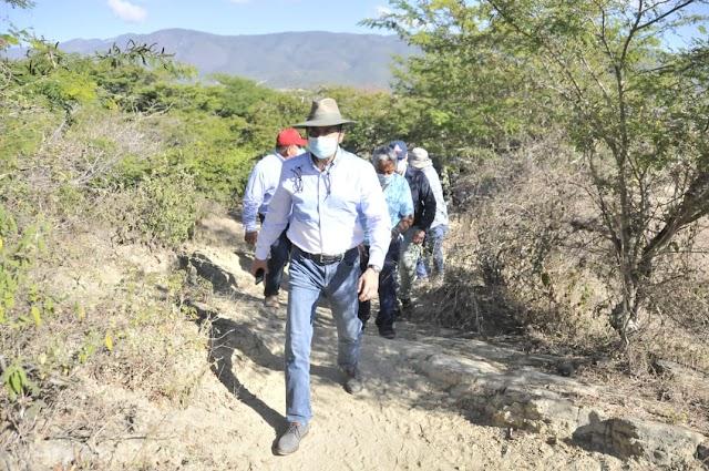 Ministro de Agricultura recorre zonas agropecuarias de San Juan-VIDEO