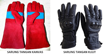 Jenis, fungsi, macam, penggunaan sarung tangan