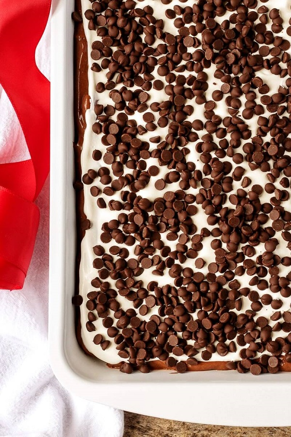 chocolate dessert lasagna