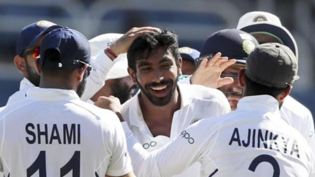 हनुमा विहारी ने ठोका शतक, बुमराह ने हैट्रिक लेकर लूटी महफिल, भारत के सामने 257 रन से हारी विरोधी टीम