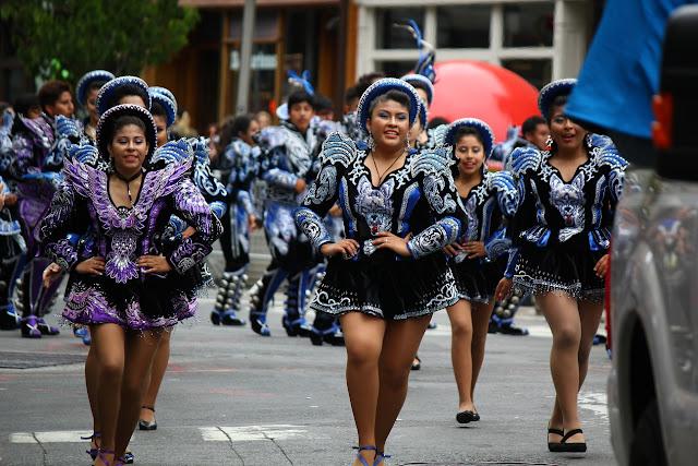grupo de danza tradicional boliviana Caporal