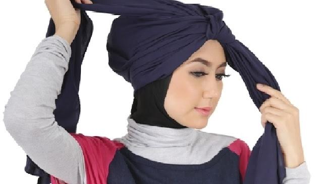 Tips Memakai Hijab Turban Simpel