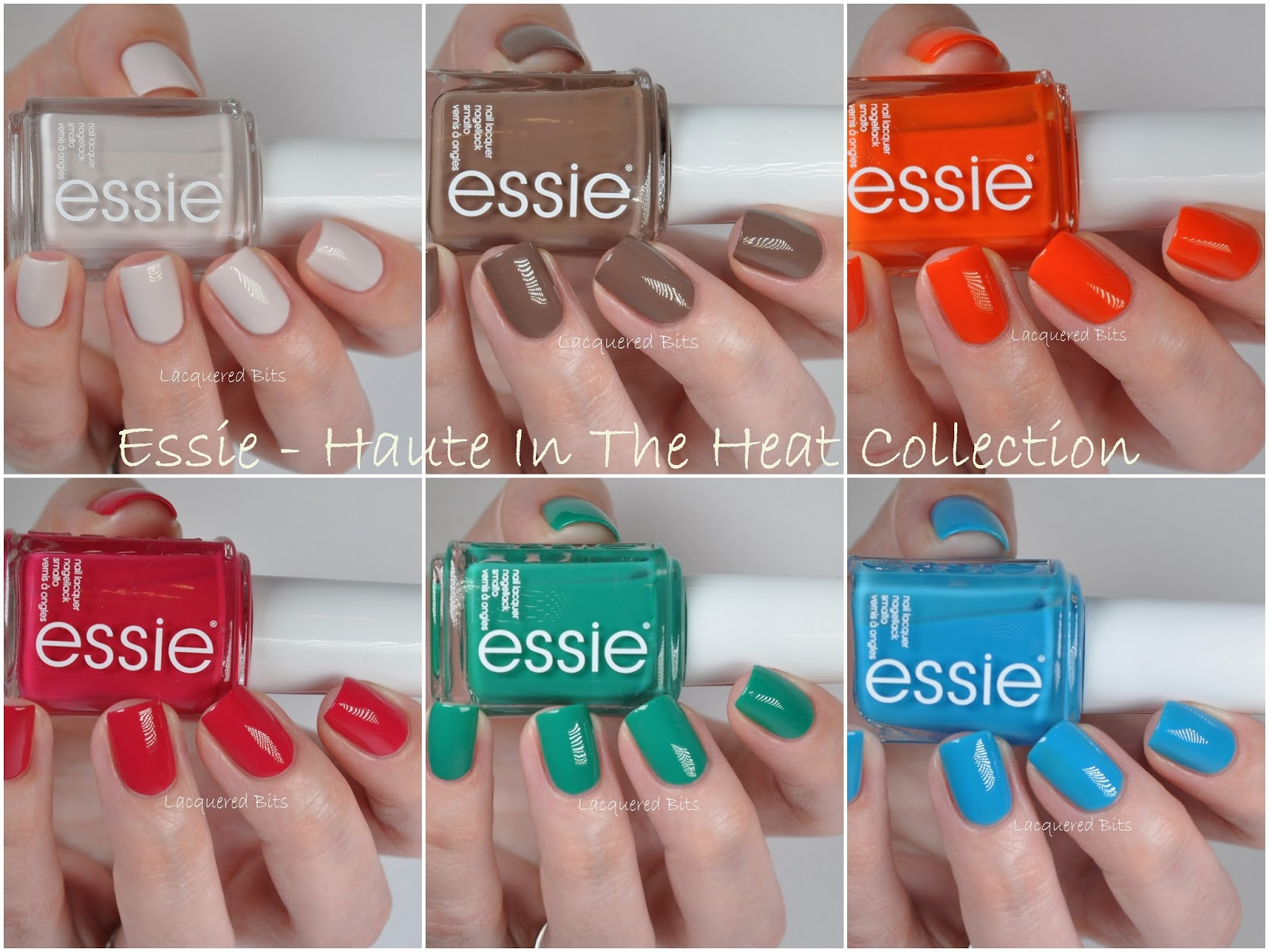 Essie Summer 2014 Haute In The Heat Collection
