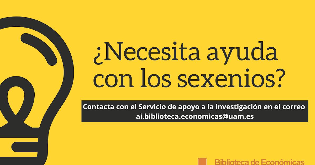 Sexenios 2019 madrid