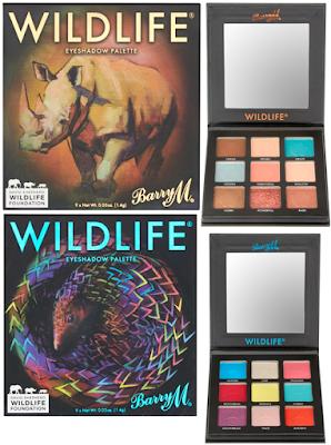 Barry M Wildlife Palettes