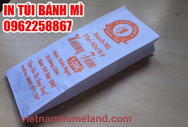 Lợi ích của việc in logo lên túi giấy đựng bánh mì