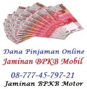Pinjaman uang jaminan bpkb motor ciledug