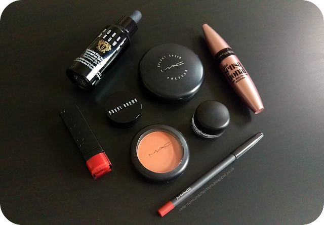 face of the day ft MAC, Bobbi Brown cosmetics, Bourjois, Maybelline