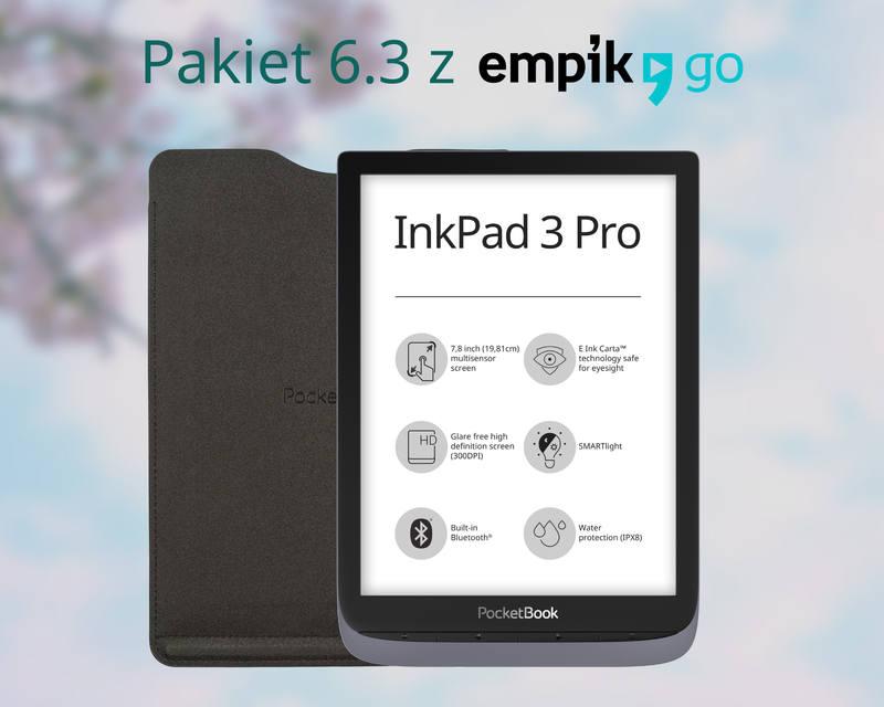 Z Oprogramowaniem 6.3 PocketBook InkPad 3 Pro zyskuje aplikację Empik Go