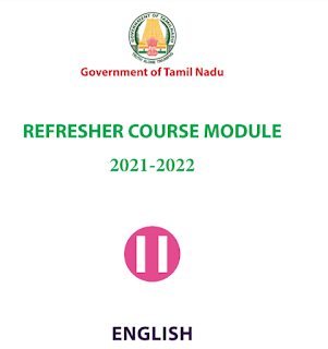 11th English Refresher Course Answer Key