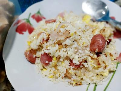 Resepi Nasi Goreng Hot Dog Yang Mudah